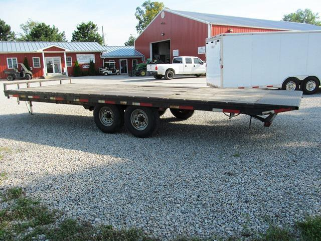 2009 Belmont Machine DO 924TD - 14 Equipment Tilt Trailer ** USED **