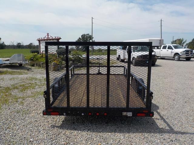 2017 Big Tex Trailers 35SA-12BK-RG Utility Trailer