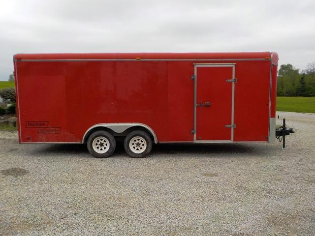 1997 Haulmark G820 TA2 Enclosed Cargo Trailer