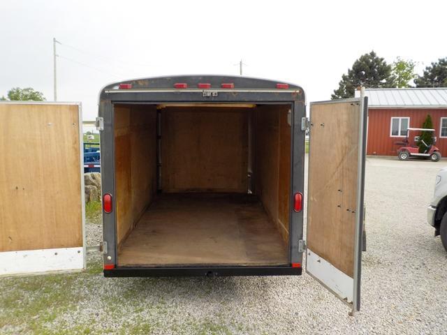 2008 Homesteader 612 CS Enclosed Cargo Trailer