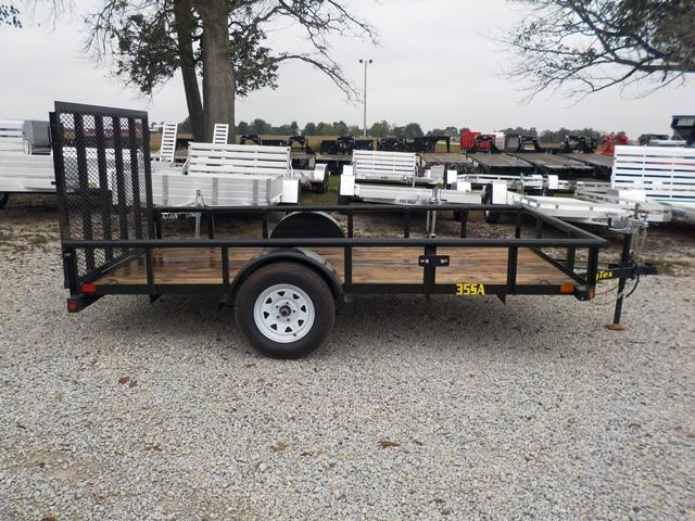 2017 Big Tex Trailers 35SA 12BK Utility Trailer