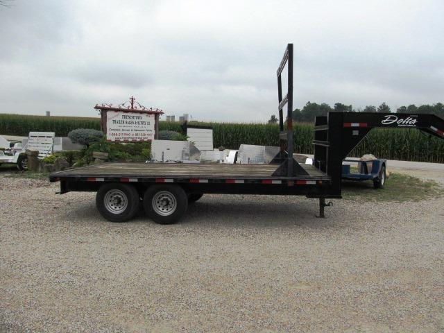 2007 Delta Manufacturing 8616 200 SERIES Flatbed Trailer ** USED ** in Ashburn, VA