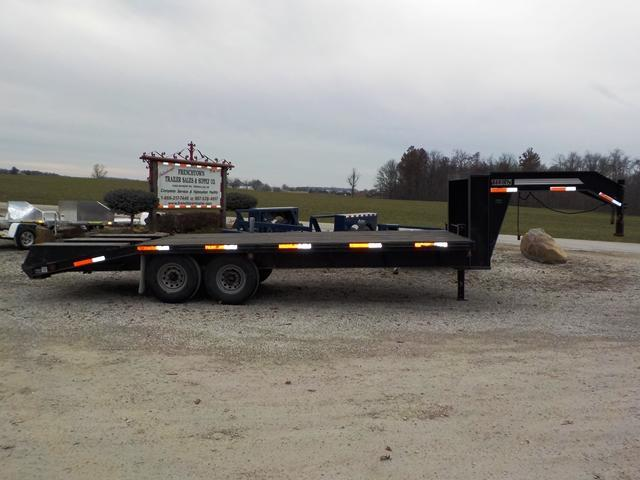 2000 Titan Trailers 16' + 5' Equipment Trailer