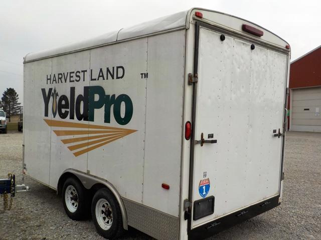 2008 Interstate IWD 814 TA2 Enclosed Cargo Trailer