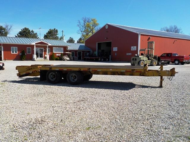 2000 Belshe T-9 2EP Equipment Trailer - **USED**