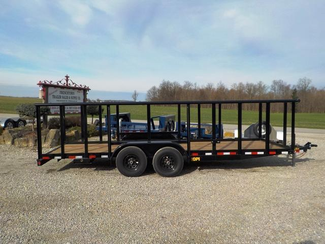 2019 Big Tex Trailers 10PI-20 Utility Trailer