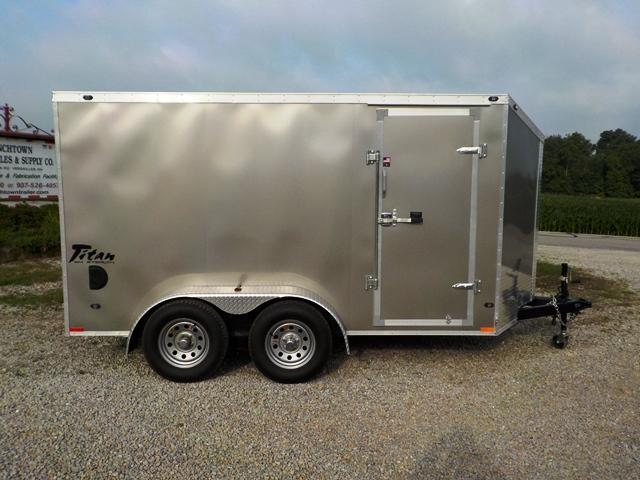 2017 Stealth Trailers STSE612 TA2 Enclosed Cargo Trailer