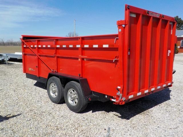 2019 B-Wise ULTIMATE DU16-15 Dump Trailer