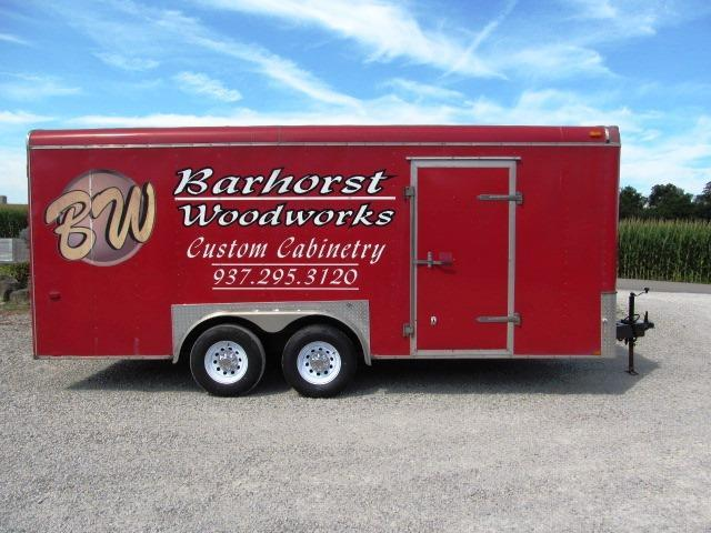 2008 Interstate I-818 TA3 XLT Enclosed Cargo Trailer