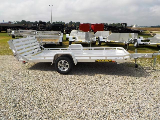 2020 Aluma 7712 S BT LW Utility Trailer
