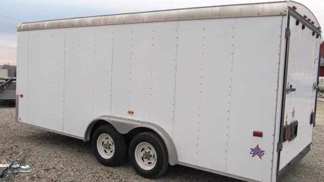 2003 US Cargo USC 818 TA2 Enclosed Cargo Trailer