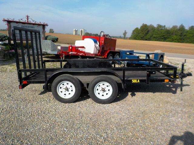 2014 Big Tex  50LA-12 Utility Trailer