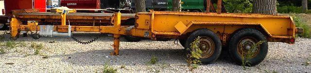 1995 Moran Welding Inc. 2E80 Utility Trailer - **USED**