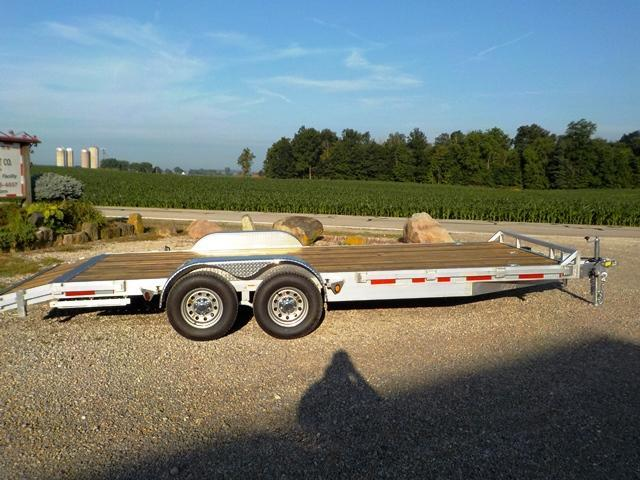 2020 Quality Steel and Aluminum 8320 ALCH Car / Racing Trailer in Ashburn, VA