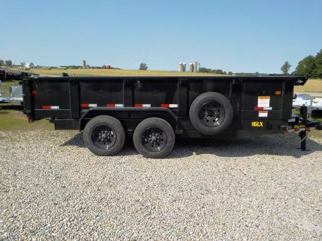 2020 Big Tex Trailers 16LX-16 H.D. Dump Trailer