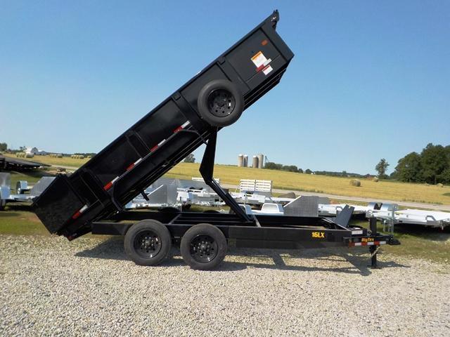 2020 Big Tex Trailers 16LX-16 H.D. Dump Trailer