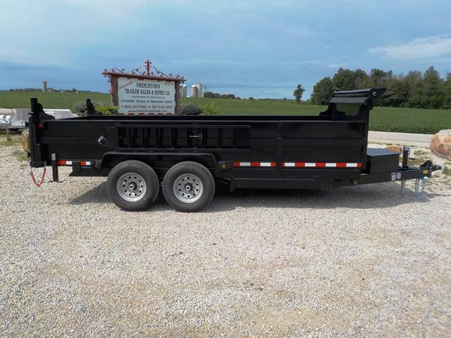 2018 Quality Steel and Aluminum 8316D 14K Low Profile Dump Trailer in Ashburn, VA