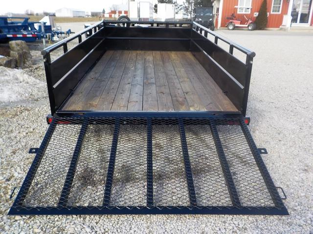 2019 Big Tex Trailers 70TV-14BK Utility Trailer