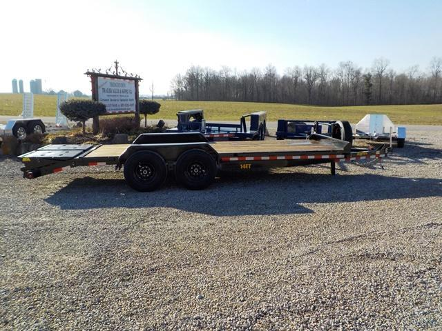 2019 Big Tex Trailers 14 ET-20 Equipment Trailer