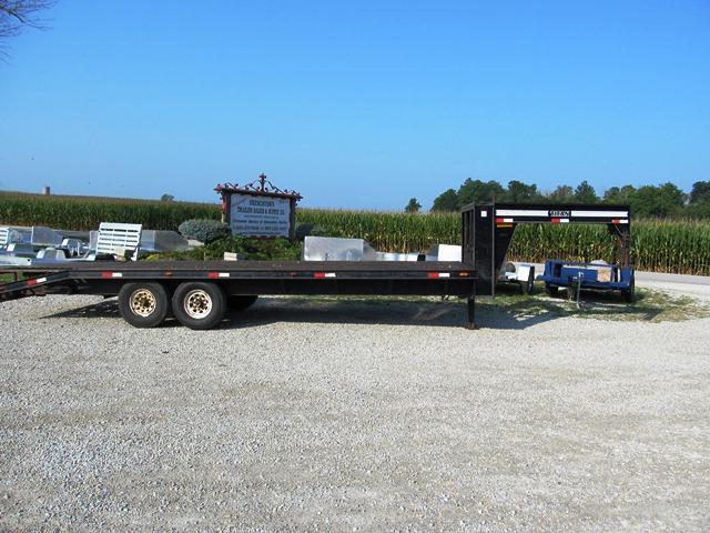 1996 Titan Trailers 85x20 Equipment Trailer