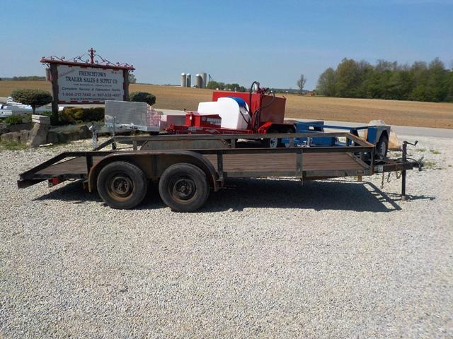 1988 MODERN 7716 Utility Trailer **USED** in Ashburn, VA