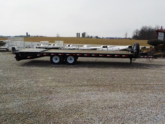 2019 PJ Trailers F8J2492BSW02QRY Equipment Trailer