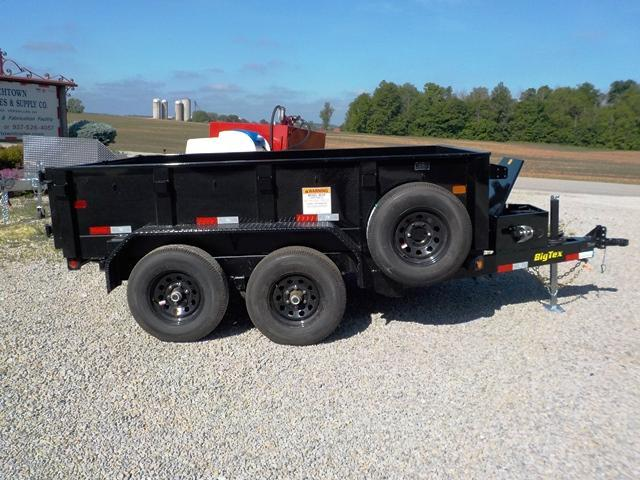 2019 Big Tex Trailers 90SR-10BK-7SIR Dump Trailer
