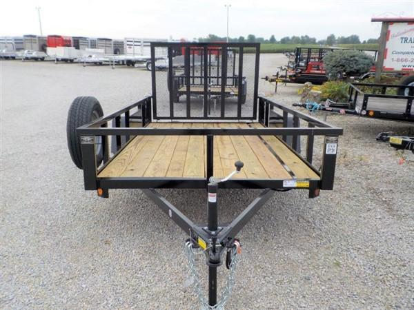 2020 Quality Steel and Aluminum 7412 AN SA Utility Trailer