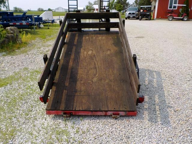 2005 Homemade UT 4 x 8 Utility Trailer