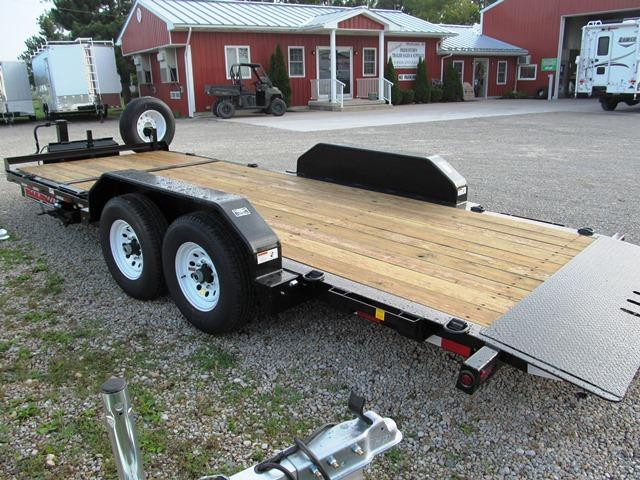 2019 Trailerman Trailers Inc. CTT7416 N14 16' + 4' Equipment Trailer