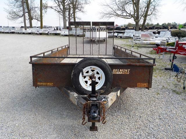 2009 Belmont UT 616 TASS Utility Trailer **USED**