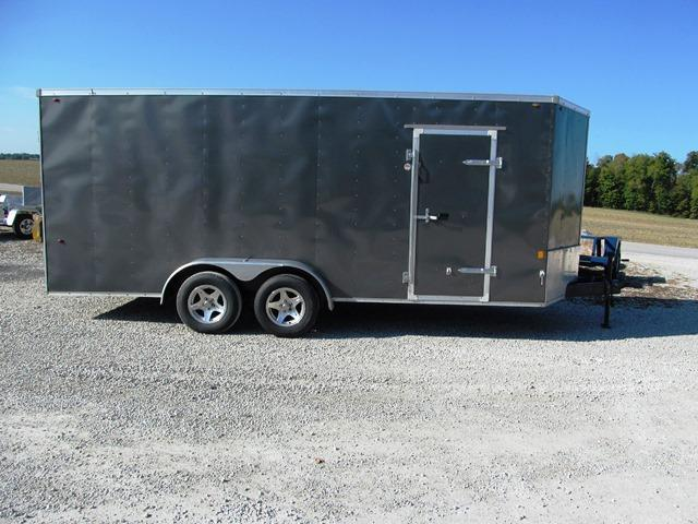 2017 Interstate SFC 718TA2 Enclosed Cargo Trailer **USED**