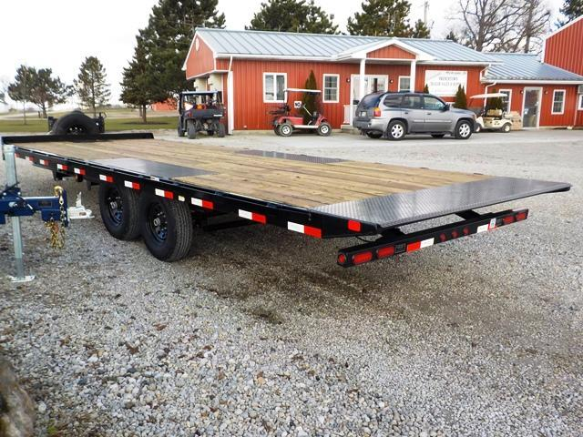 2019 Big Tex Trailers 14OT - 24 Deck-Over Tilt Equipment Trailer