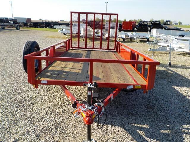 2020 Quality Steel and Aluminum 8216 AN Utility Trailer
