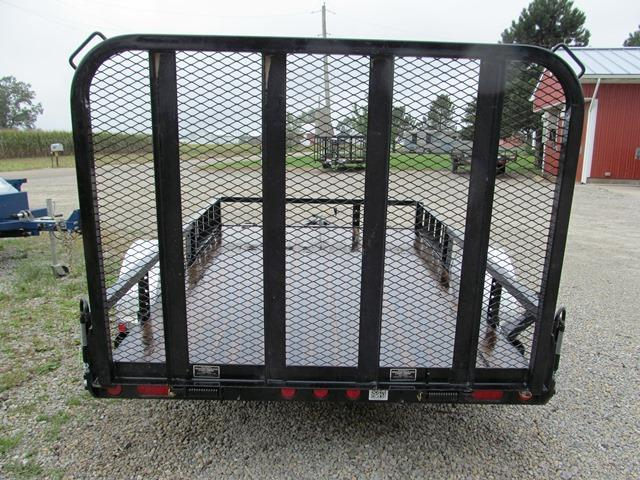 2019 PJ Trailers U221031DSFK8AT Utility Trailer