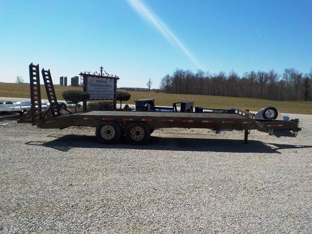 2006 International C-22X8-DO Equipment Trailer **USED** in Ashburn, VA