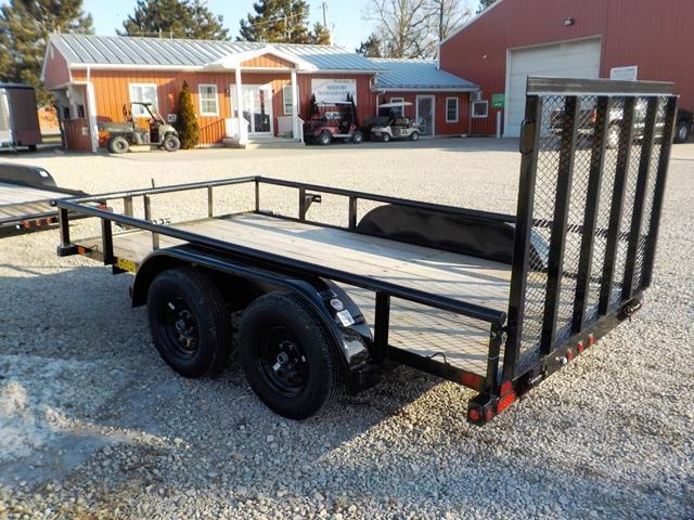 2019 Big Tex Trailers 60PI-12 BK4RG Utility Trailer