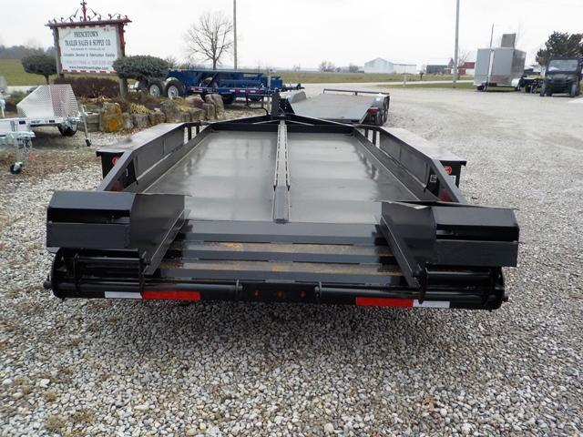 1993 Belshe T-18 2EP Equipment Trailer
