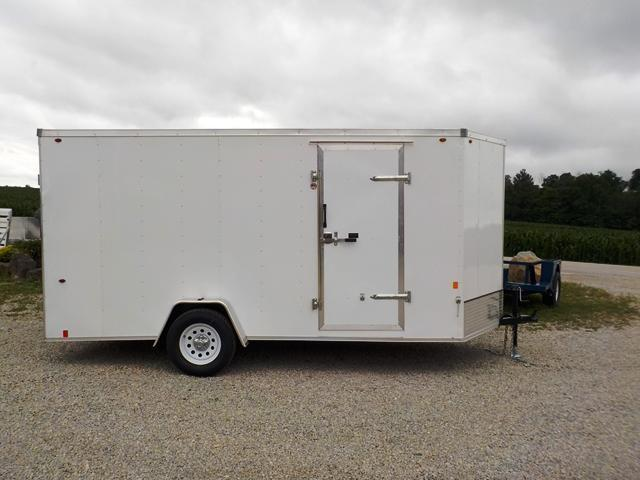 2018 Interstate SFC 714 SAFS Enclosed Cargo Trailer
