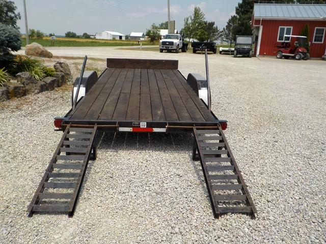 2000 Yoder & Sons 618x18 Equipment Trailer **USED**