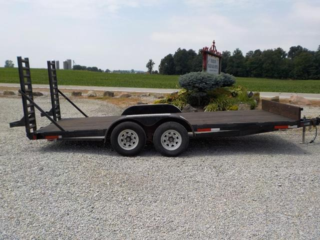 2000 Yoder & Sons 618x18 Equipment Trailer **USED** in Ashburn, VA
