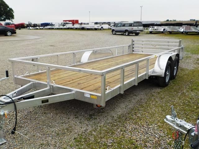 2020 Quality Steel and Aluminum 8218 ALDX Utility Trailer