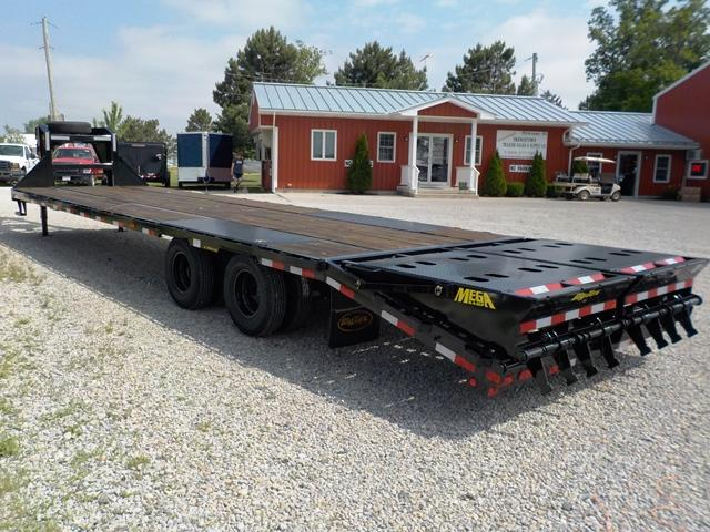 2019 Big Tex Trailers 22GN-HD 28-BK 5 MEGA RAMPS Equipment Trailer
