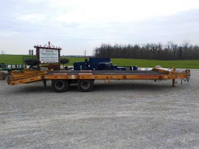 2008 SuperLine DO10T202ALP Equipment Trailer in Ashburn, VA