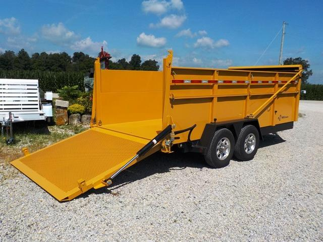 2018 B-Wise DU 16-15 Ultimate Dump Trailer