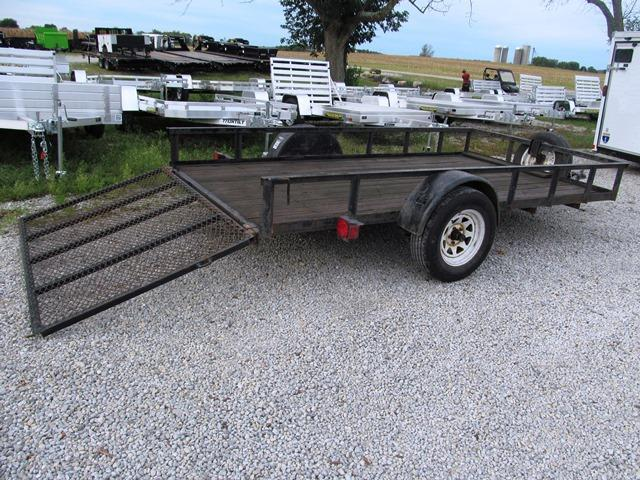 2007 GoldStar 74 X 12 Utility Trailer **USED**