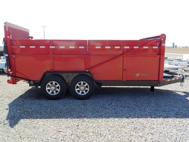 2019 B-Wise DU16-15 ULTIMATE Dump Trailer