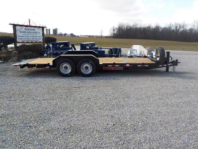 2019 Trailerman Trailers Inc. CTT7416 N14 16+4 Equipment Trailer