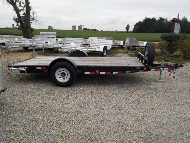 2016 PJ Trailers C1J1471RSSK Car / Racing Trailer - **USED**