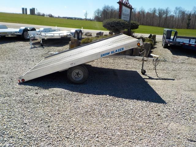 2011 Miller SNOW BLAZER Snowmobile Tilt Trailer